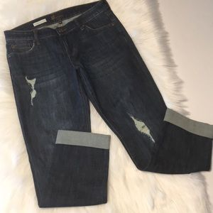 Kut from the Kloth Catherine Boyfriend Jeans Sz 6